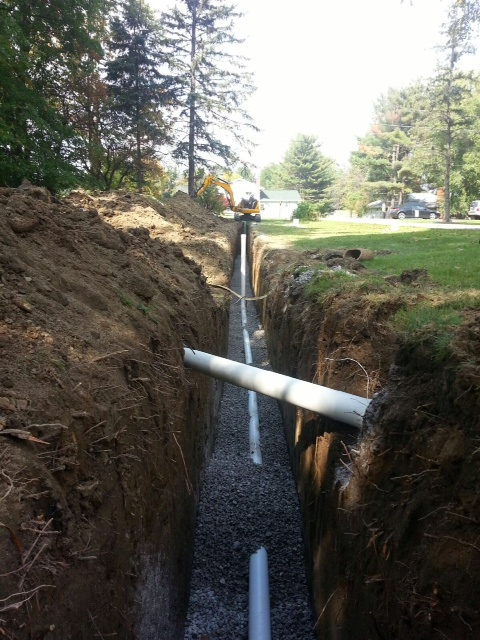 sanitary sewer line replacement Strongsville Ohio